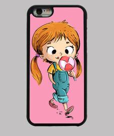 ragazza con lecca-lecca - iphone 6