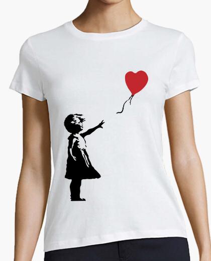 T-shirt ragazza con palloncino