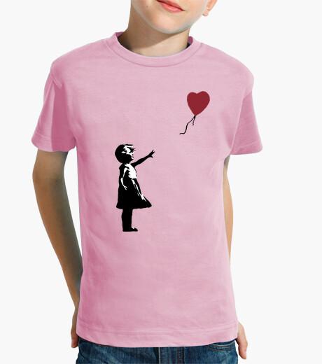 Abbigliamento bambino Ragazza con Palloncino (Banksy)