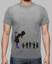 ragazza femminista - t-shirt home