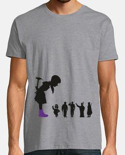 ragazza femminista - t-shirt home