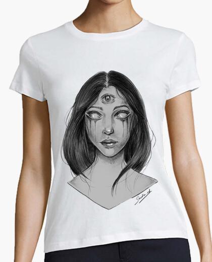 T-shirt ragazza terzo occhio