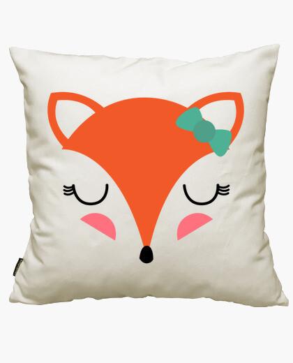 Fodera cuscino ragazza volpe
