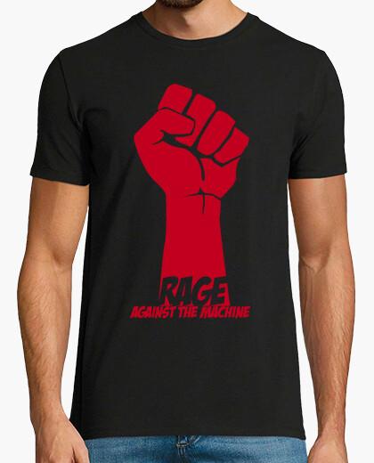 Camiseta rage against the machine v2 (rojo)
