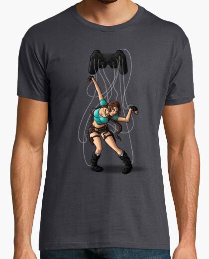Raider string (collab harantula) t-shirt