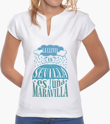 Rain in seville ... t-shirt
