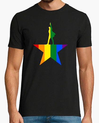 Camiseta Rainbow Hamilton