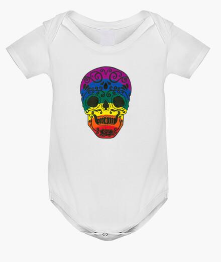 Abbigliamento bambino rainbow sugar skull