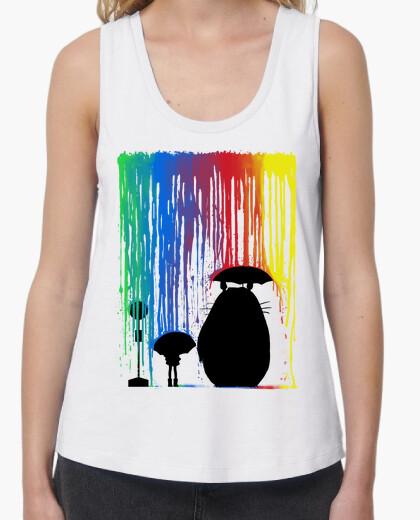 T-shirt Rainbow Totoro