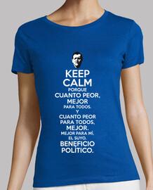 Rajoy Cuanto Peor Mejor