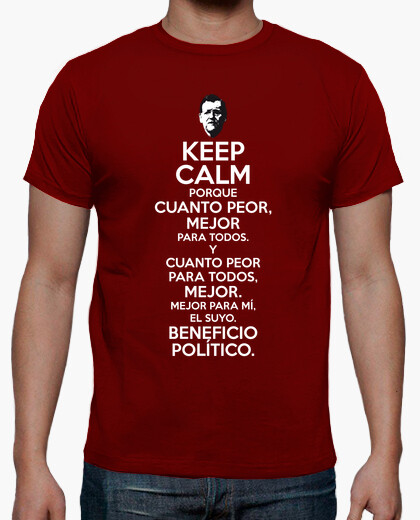 Rajoy the worse the better t-shirt