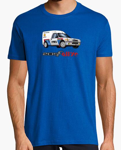 Camiseta Rally de 205