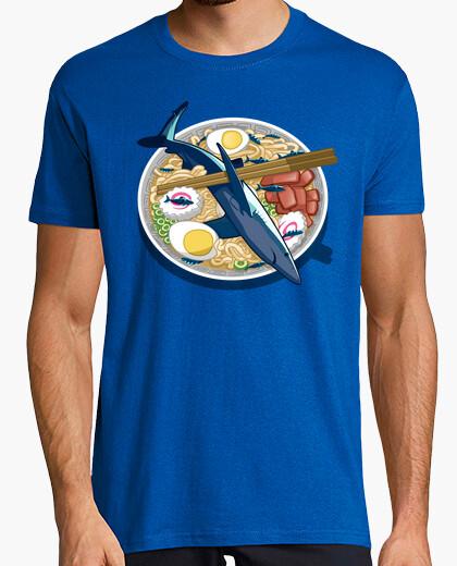 Tee-shirt ramen de requin