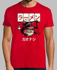 ramen kaonashi shirt mens