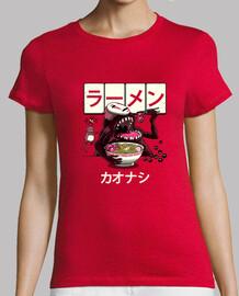 ramen kaonashi shirt women