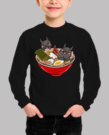 ramen scottish terrier dog