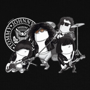 T-shirt Ramones by Calvichi's [WEB]