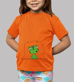 rana e vola, t-shirt del bambino