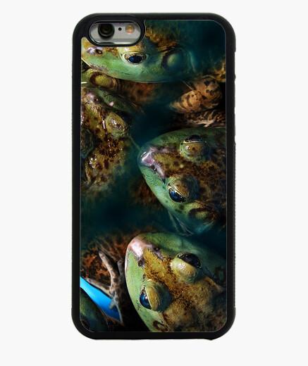 Funda iPhone 6 / 6S Ranas Verdes