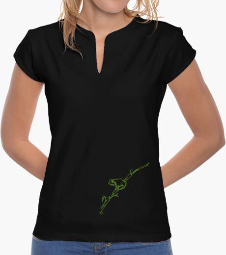 Camiseta Ranita de San Antonio - verde - mujer