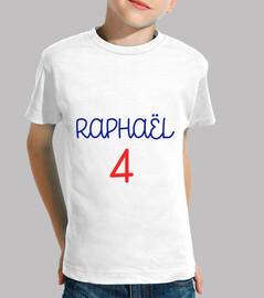 raphael 4 / fútbol / pie