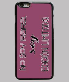 rare -fashion iphone 6 plus, noir