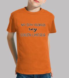 rare, garçon, manches courtes, orange