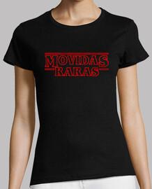 rare moved girl t-shirt