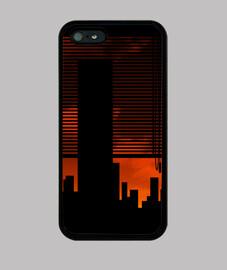 Rascacielos y ventana - Funda Iphone 4/5