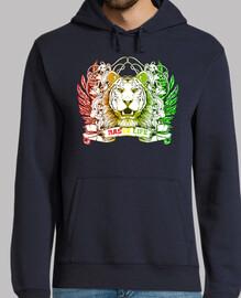 rasta hoodie