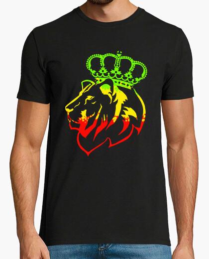 Tee-shirt rasta lion