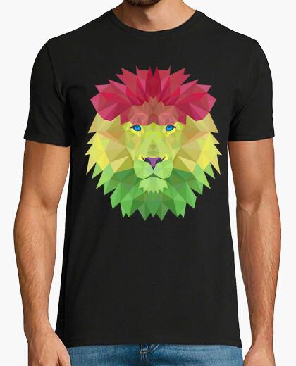 Camiseta Rasta Lion 3D