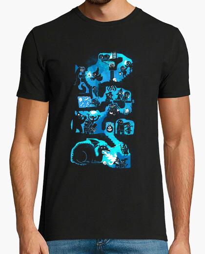 Camiseta rastreadores de las mazmorras