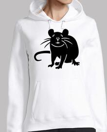 rata negra ratón