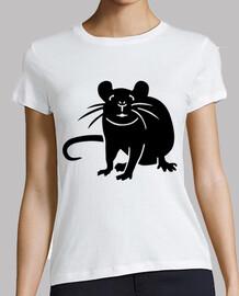 rata ratón negro