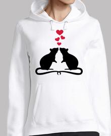 ratas aman corazones