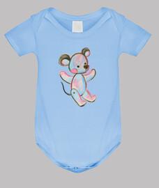 Ratón adorable infantil dibujo bonito