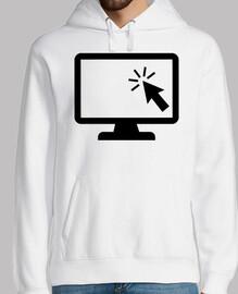 ratón de la pantalla de la computadora