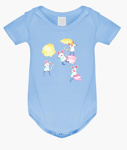 Ropa infantil RATONCITOS body bebé azul