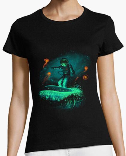 T-Shirt raum surfer shirt frauen