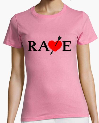 T-shirt rave, gioco catherine - ragazza