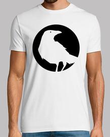 raven moon - white