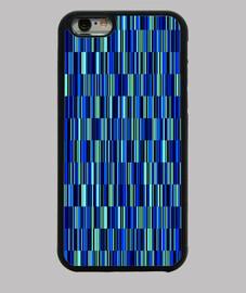 rayas y bandas azules -