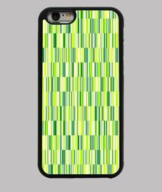 rayas y bandas verdes -