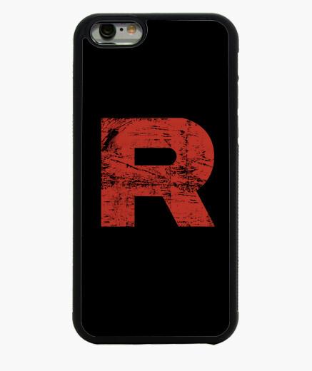 Cover iPhone 6 / 6S razzo grunge squadra