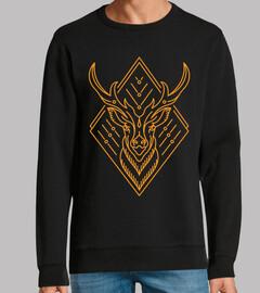 re dei cervi (oro)