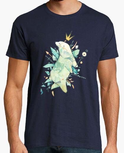 T-shirt re orso polare