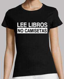read books, not shirts
