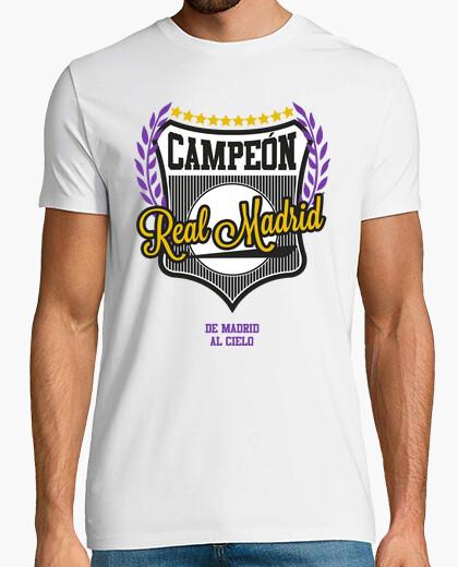 Tee-shirt Real Madrid - Madrid au ciel