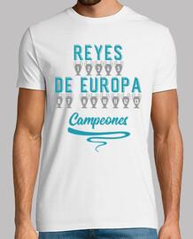 Real Madrid - Reyes de Europa Campeones